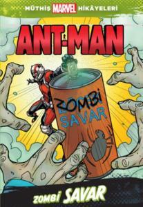 Müthiş Marvel Hikayeleri Ant-Man Zombi Savar