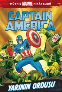 Müthiş Marvel Hikayeleri Captaın Amerıca Yarının Ordusu