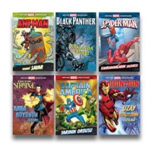 Müthiş Marvel Hikayeleri Seti 6 Kitap
