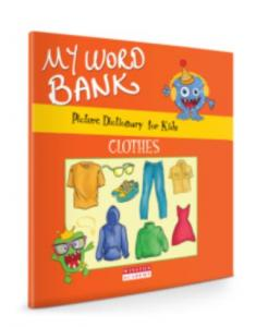 Picture Dictionary For Kids-My Word Bank-Clothes