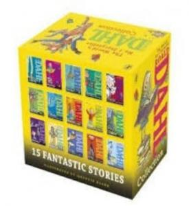Roald Dahl 15 Fantastic Stories Box Set