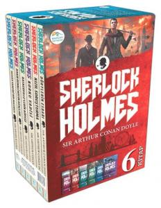 Sherlock Holmes 6 Kitap Takım-Kutulu