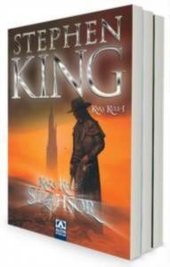 Stephen King Seti -Kara Kule 3 Kitap Takım