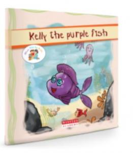 Story Time For Kids-Kelly The Purple Fish