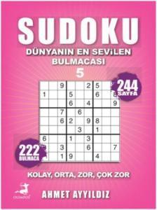 Sudoku Kolay Orta Zor Çok Zor-5