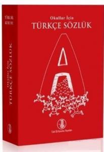 TDK Okullar İçin Türkçe Sözlük-Kırmızı