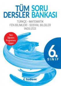 Tudem 6. Sınıf Tüm Dersler Soru Bankası-YENİ