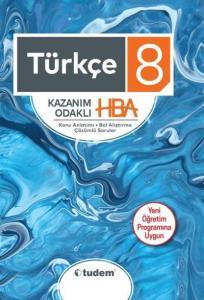 Tudem 8. Sınıf Türkçe Kazanım Odaklı HBA-YENİ