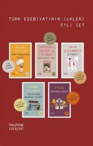 Türk Edebiyatının İlkleri 5 Kitap Set