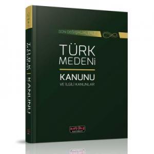 Türk Medeni Kanunu ve İlgili Mevzuat Dikişli Ciltli