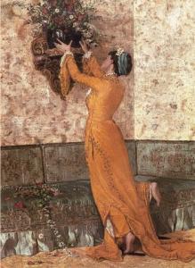 Vazo Yerleştiren Kız (Puzzle 1000)