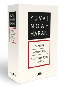 Yuval Noah Harari Set 3 Cilt-K. Kapak