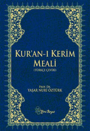 Kur'an-ı Kerim Meali (Türkçe Çeviri-Büyük Boy)