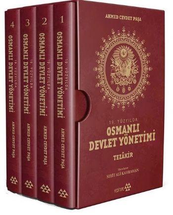 19. Yüzyılda Osmanlı Devlet Yönetimi (4 Kitap) Ahmed Cevdet Paşa