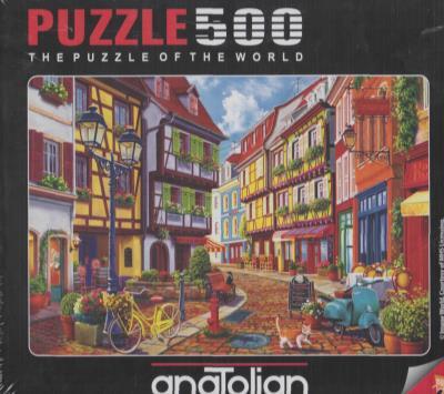 Anatolian-Puzzle 500 Arnavut Kaldırımı Cobblestone Alley Kolektif
