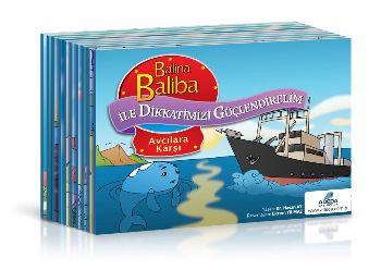 Balina Baliba ile Dikkatlerimizi Güçlendirelim Seti 10 Kitap  6-9 Yaş