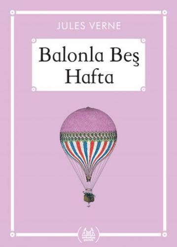 Balonla Beş Hafta-Gökkuşağı Cep Kitap