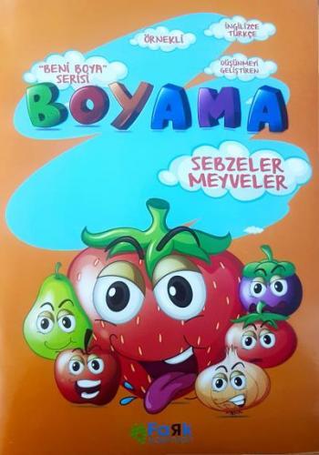 Beni Boya Serisi-Sebzeler Meyveler