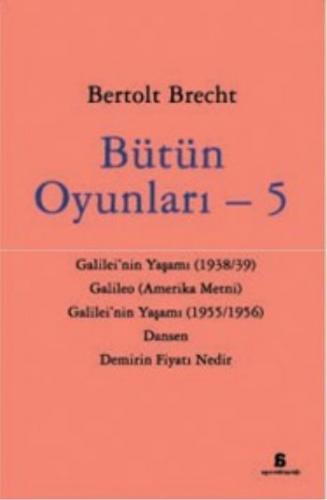 Bütün Oyunları 5 Bertolt Brecht