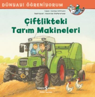 Çiftlikteki Tarım Makineleri Dünyayı Öğreniyorum