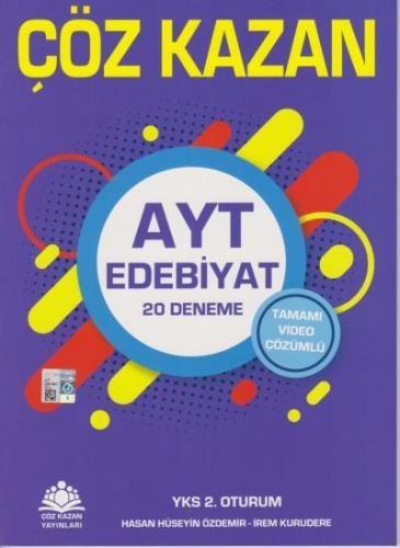 Çöz Kazan AYT Edebiyat Tamamı Video Çözümlü 20 Deneme 2. Oturum