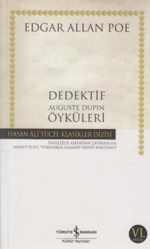 Dedektif Auguste Dupin Öyküleri K.Kapak