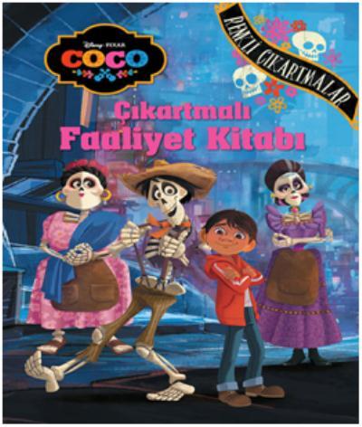 Disney Coco Çıkartmalı Faaliyet  Kitabı