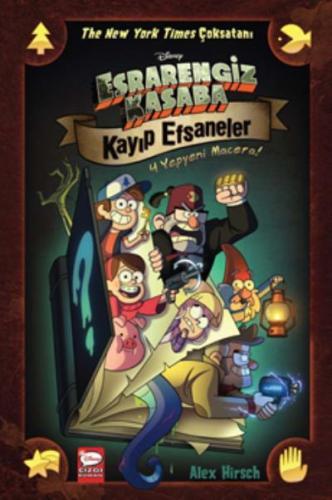 Disney-Esrarengiz Kasaba Kayıp Efsaneler Alex Hirsch