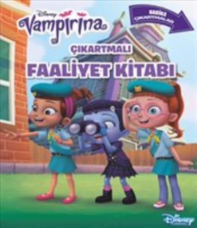 Disney Vampirina Çıkartmalı Faaliyet Kitabı