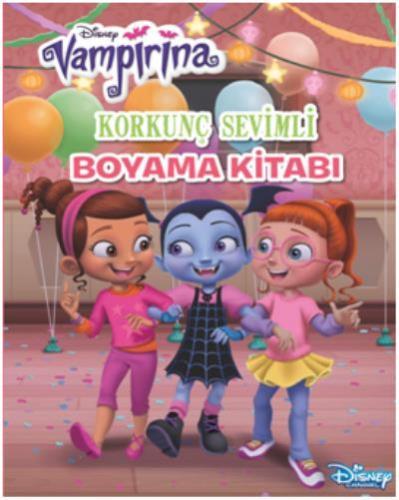 Disney Vampirina Korkunç Sevimli Boyama Kitabı