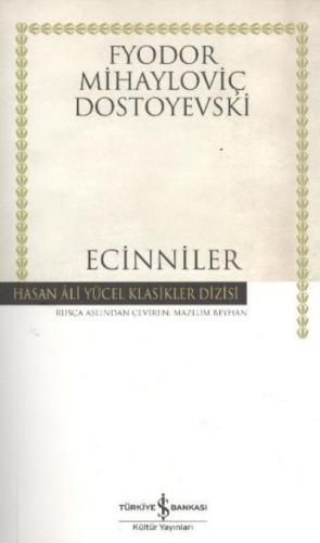 Ecinniler Ciltsiz Fyodor Mihayloviç Dostoyevski