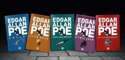 Edgar Allan Poe Kitaplığı Seti 5 Kitap Edgar Allan Poe