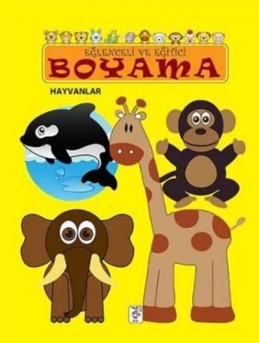 Eğlenceli ve Eğitici Boyama Hayvanlar