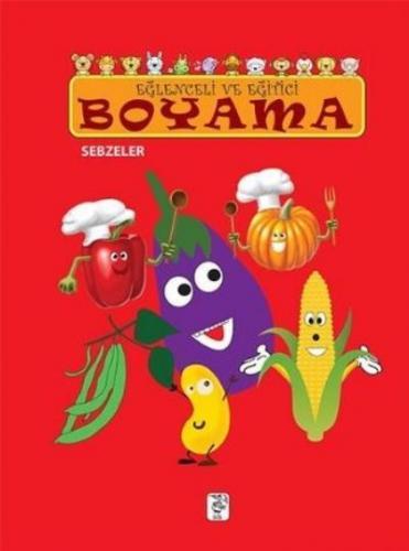 Eğlenceli ve Eğitici Boyama Sebzeler
