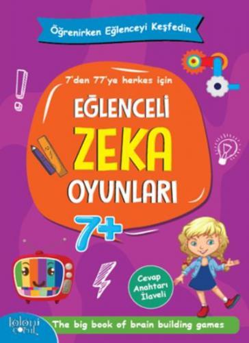 Eğlenceli Zeka Oyunları - Mor Kitap Kolektif
