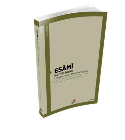 Esami-İki Dilli Sözlük-Türkçe-Farsça Manzum Sözlük