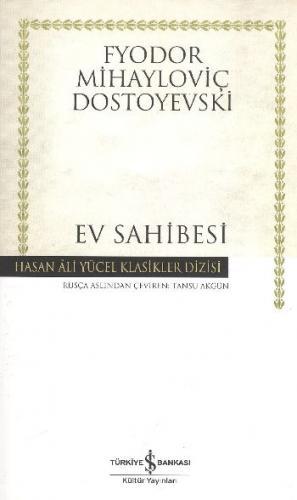 Ev Sahibesi (K.Kapak) Fyodor Mihayloviç Dostoyevski