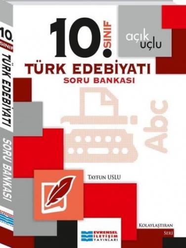 Evrensel 10. Sınıf Türk Edebiyatı Soru Bankası Tayfun Uslu