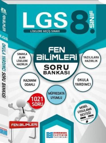 Evrensel 8. Sınıf LGS Fen Bilimleri Soru Bankası Evrensel Iletişim Yay