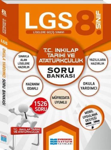Evrensel 8. Sınıf LGS T.C. İnkılap Tarihi ve Atatürkçülük Soru Bankası