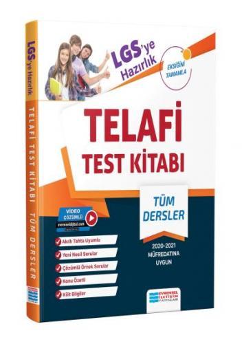 Evrensel İletişim LGS ye Hazırlık Telafi Test Kitabı Video Çözümlü-YEN