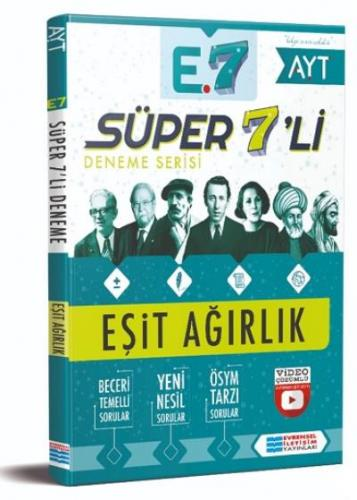 Evrensel Süper 7 li Deneme-Eşit Ağırlık Evrensel İletişim Yayınları Ko