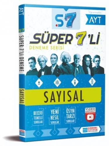 Evrensel Süper 7 li Deneme-Sayısal Evrensel İletişim Yayınları Komisyo
