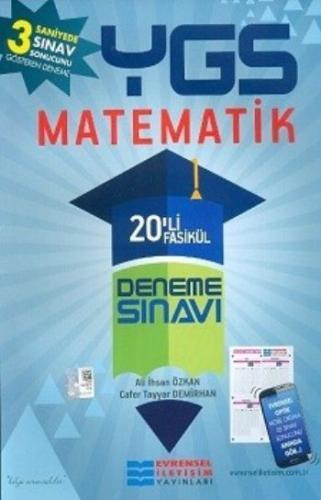 Evrensel YGS Matematik 20 li Fasikül Deneme Sınavı Ali İhsan Özkan-Caf