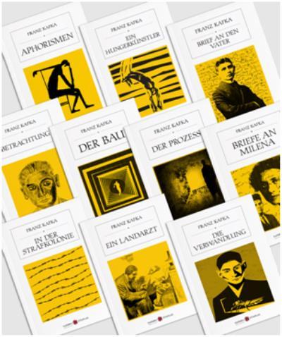 Franz Kafka Almanca Seti-10 Kitap