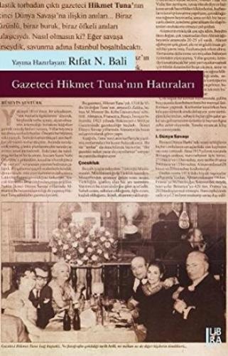 Gazeteci Hikmet Tunanın Hatıraları