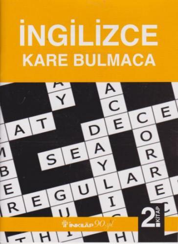 Ingilizce Kare Bulmaca 2. Kitap