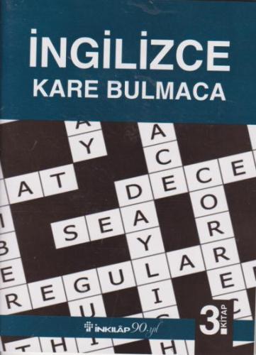 Ingilizce Kare Bulmaca 3. Kitap