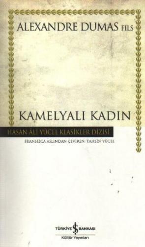 Kamelyalı Kadın (K.Kapak) Alexandre Dumas