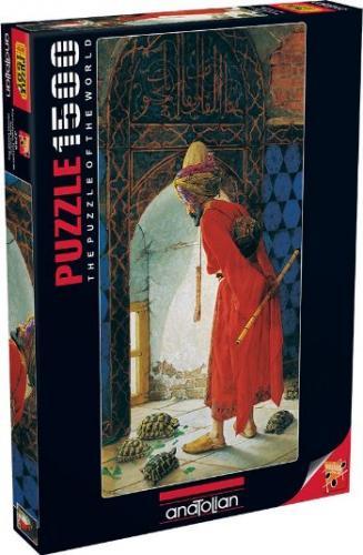 Kaplumbağa Terbiyecisi (Puzzle 1500) 3755 Osman Hamdi Bey